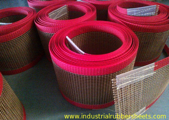 Chine PTFE polyester mesh fabric , PTFE polyester mesh fabric for conveyor belt / griddling cloth, made by PTFE coated fournisseur