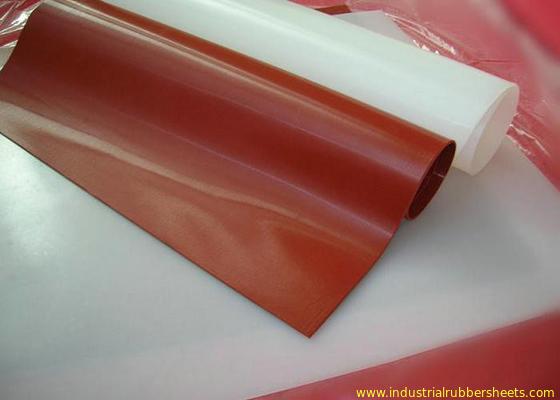 Chine Catégorie 100% comestible de Rolls de Vierge de silicone de feuille translucide en caoutchouc sans odeur distributeur