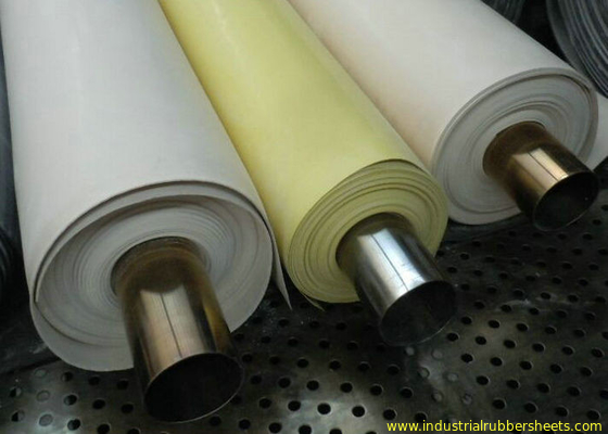 Chine Food Grade White Nitrile Rubber Sheet , Nitrile Sheets, Nitrile Rolls , Industrial Rubber Sheet usine